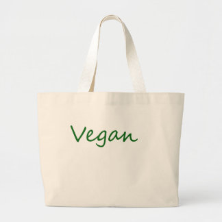 Vegan Jumbo Stoffbeutel