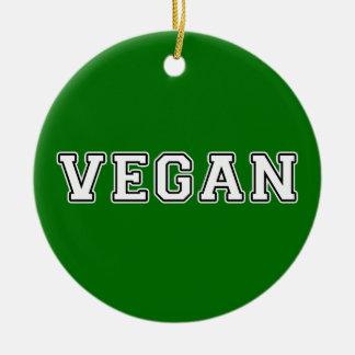 Vegan Keramik Ornament