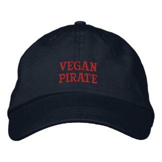 Vegan Pirate Cap Bestickte Kappe