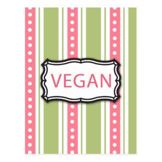 Vegan Postkarte