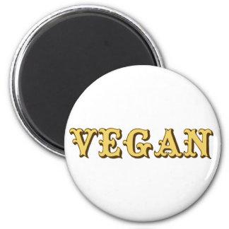 Vegan Runder Magnet 5,7 Cm