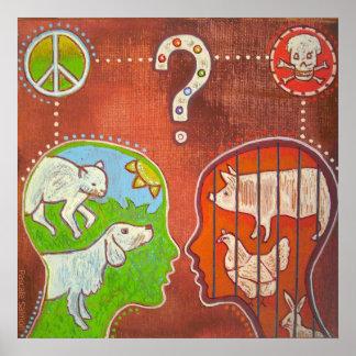Vegan speciesism Poster