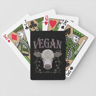 Vegan - Tiere wollen leben Bicycle Spielkarten