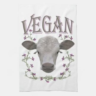 Vegan - Tiere wollen leben Küchentuch