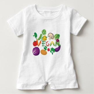 vegane 2 baby strampler