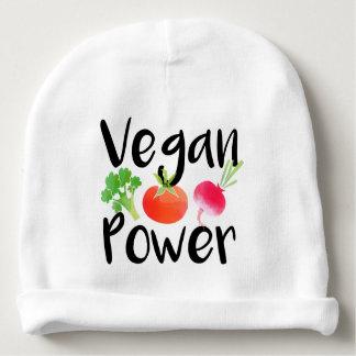 """""""Vegane Baby-Power """" Babymütze"""
