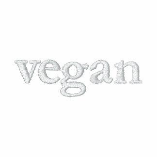 Vegane Bahn-Jacke Bestickte Fleece Track Jacke