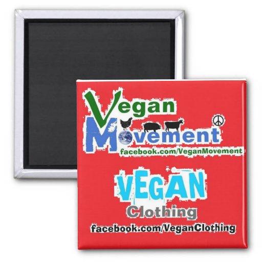 Vegane Bewegung/vegane Kleidung Magnete
