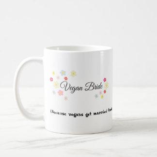 Vegane Braut, lustige Hochzeitsplanungs-Tasse für Kaffeetasse