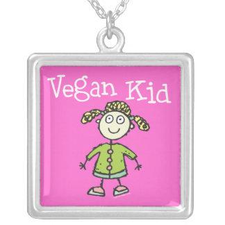 Vegane Halskette des Mädchens Kinder