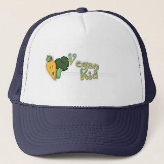 Vegane Kinderbaseballmütze Truckerkappe
