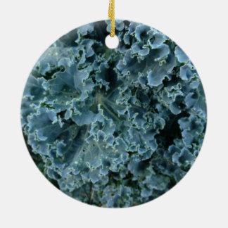 Vegane Kohl-Weihnachtsverzierung Keramik Ornament
