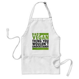 Vegane Sache Schürze