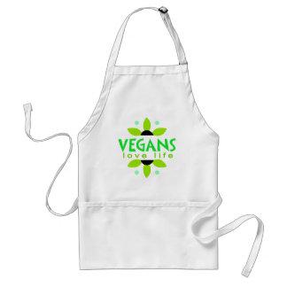 Vegane Schürze