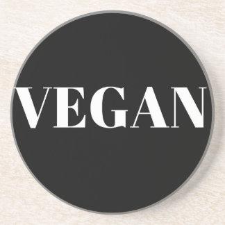 Vegane Stolz-Entwurfs-Text-Illustration Sandstein Untersetzer