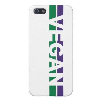 Vegane Streifen Etui Fürs iPhone 5