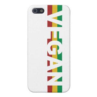 Vegane Streifen Rasta iPhone 5 Cover