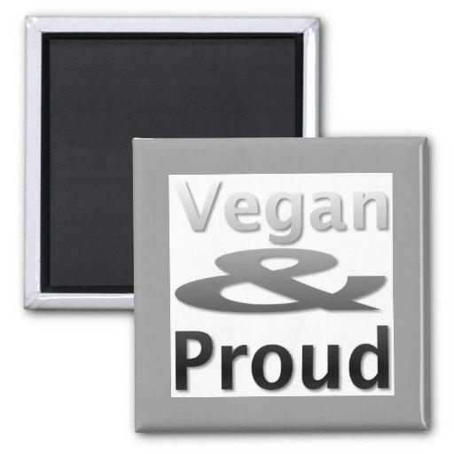 Vegane Waren Kühlschrankmagnet
