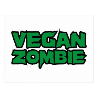 Vegane Zombies Postkarte
