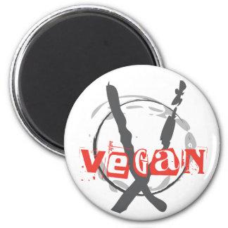 Veganer Anarchist Magnete