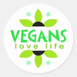 Veganer Aufkleber