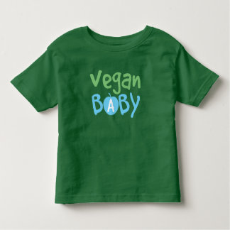 Veganer Baby-Jungen-Kleinkind-T - Shirt