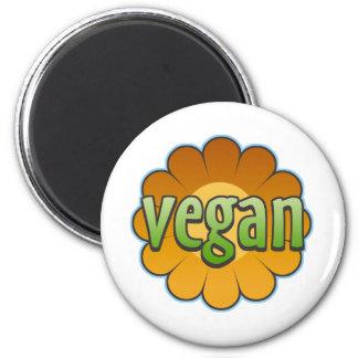 Veganer Blumen-Magnet Magnete