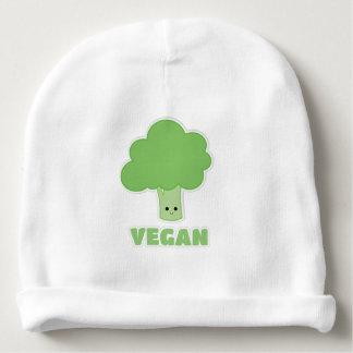 Veganer Brokkoli Babymütze