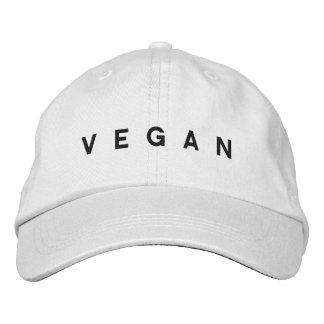 Veganer Hut Bestickte Mützen