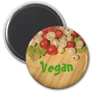 Veganer Magnet Kühlschrankmagnet