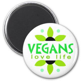 Veganer Magnet Runder Magnet 5,7 Cm