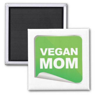 Veganer Mamma-Aufkleber Magnete