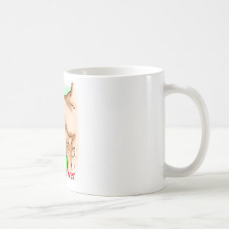 veganer Power Kaffeetasse