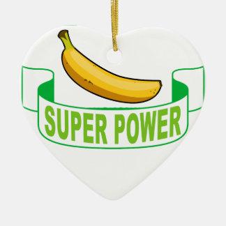 VEGANER SUPERPower. Keramik Ornament