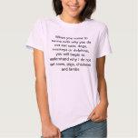 Veganer vegetarischer Tiermitleid-T - Shirt