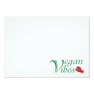 Veganer Vibes Karte