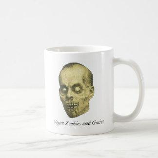 Veganer Zombie Kaffeetasse