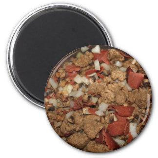 Veganes Anfüllen Runder Magnet 5,7 Cm