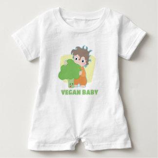 Veganes Baby Baby Strampler