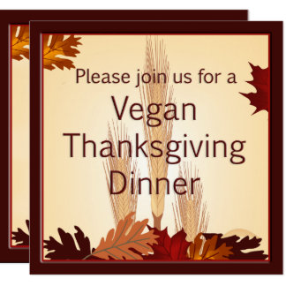 Veganes Erntedank-Ernte-Entwurfs-Abendessen laden Karte