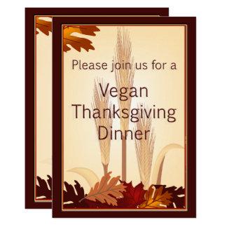 Veganes Erntedank-Herbst-Ernte-Abendessen laden Karte