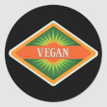 Veganes Farblogo Sticker