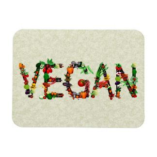Veganes Gemüse Flexible Magnete