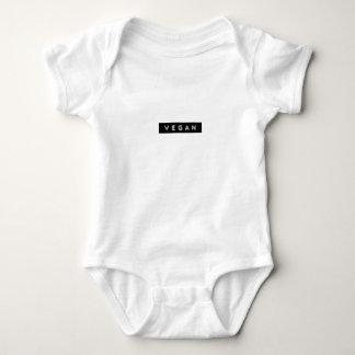 Veganes prägeartiges Entwurfst-shirt Baby Strampler