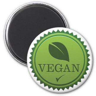 Veganes Siegel Kühlschrankmagnete