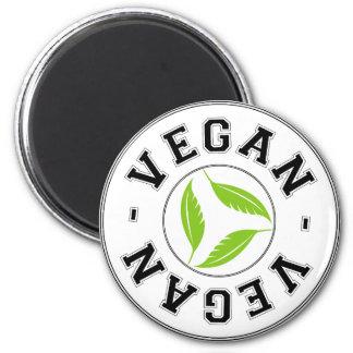 Veganes Sportlogo Kühlschrankmagnet