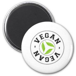 Veganes Sportlogo Kühlschrankmagnete