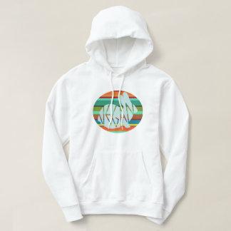 Veganes Sweatshirt des Regenbogen-Häschens