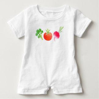 Veganes Veggiesbaby Baby Strampler