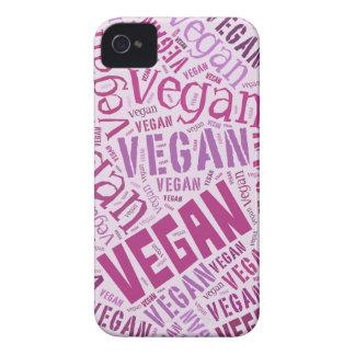 """Veganes"" Wort-Wolke Mosaik Case-Mate iPhone 4 Hüllen"